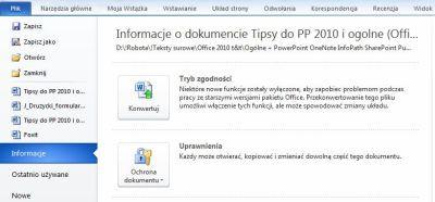 Как использовать новейшие функции Office 2010?  10 советов для всех