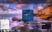 Настольный календарь Windows