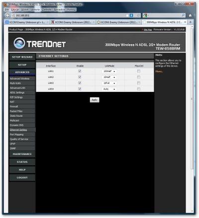 Trendnet TEW-658BRM - роутер с ADSL за небольшие деньги