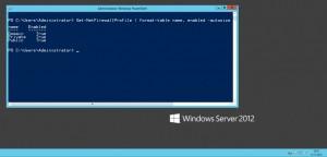 Управление брандмауэром Windows из текстовой консоли