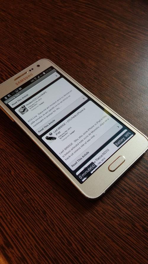 Galaxy A3 - лучший смартфон за 1000 злотых?