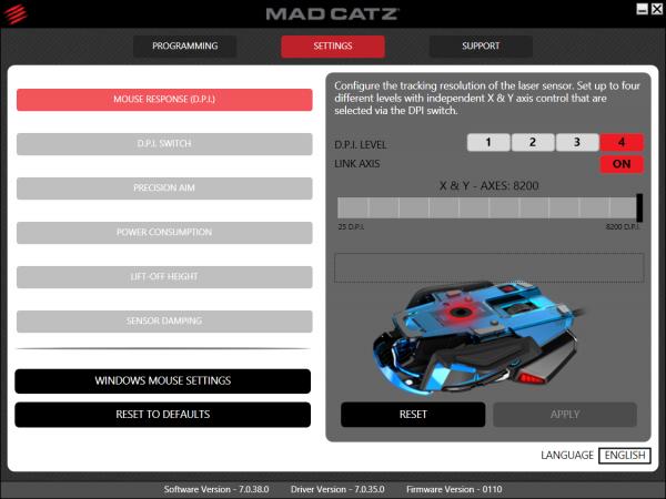 Mad Catz RAT TE