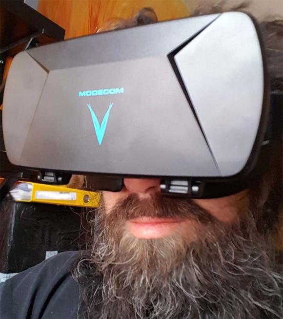 Дешевые и хорошие очки VR - Modecom Volcano Blaze