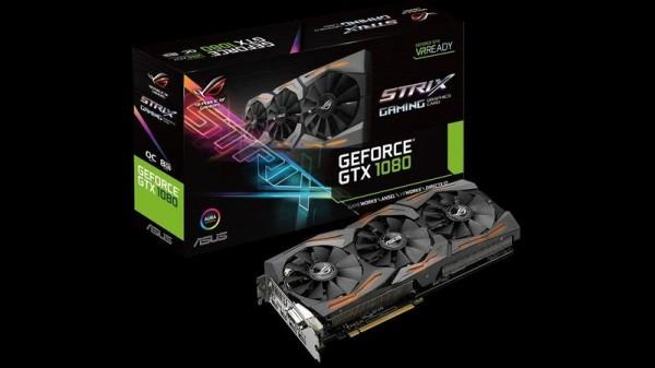 Тест видеокарты Asus GeForce GTX 1080 ROG STRIX OC 8 ГБ