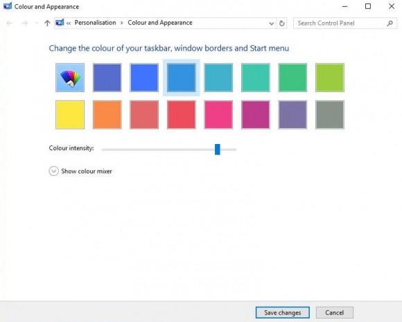 Как изменить цветовую палитру в Windows 10?