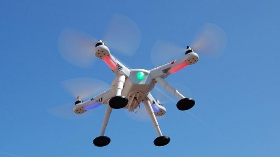 WLtoys V303 беспилотный тест