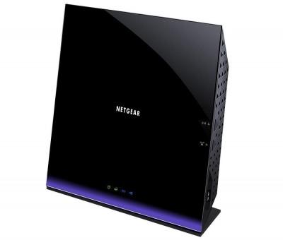 Протестируйте маршрутизатор Netgear D6400 AC1600
