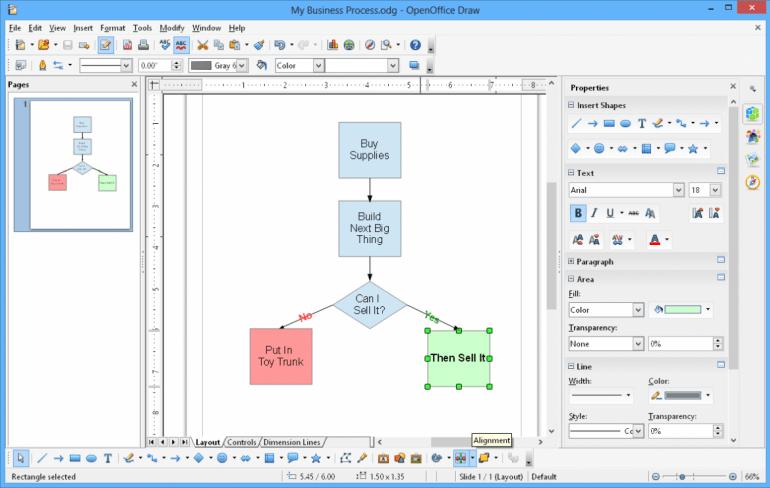 Apache OpenOffice - бесплатный офисный пакет