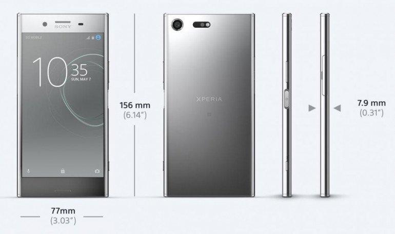 Тест Sony Xperia XZ Premium
