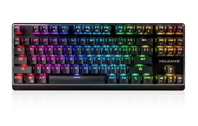 Рейтинг игровых клавиатур до 500 злотых - лучшие модели