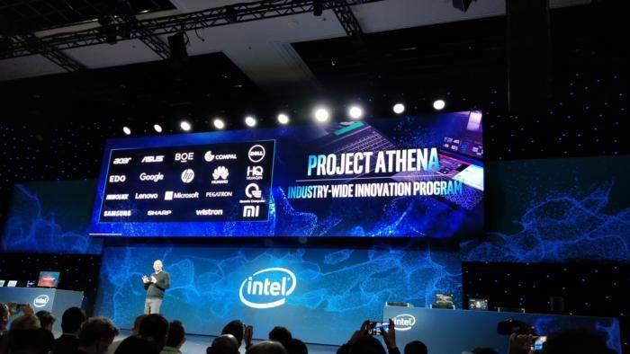 Intel представляет Ice Lake Core и «Athena Project» для ноутбуков