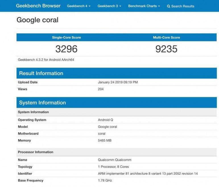 Google Pixel 4 - спецификация, цена, дата выхода