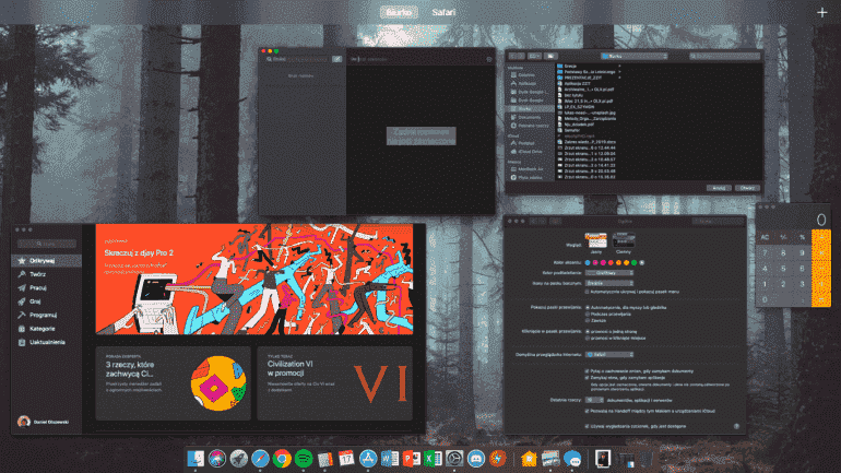 MacOS Mojave обзор