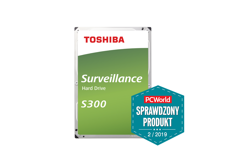 Toshiba Surveillance S300: специализированный мониторинг дисков