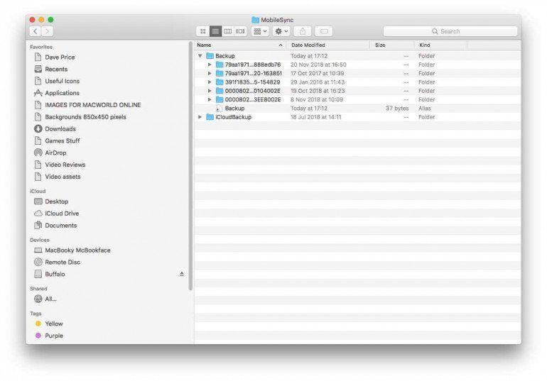 Как сделать резервную копию iPhone или iPad на внешний диск