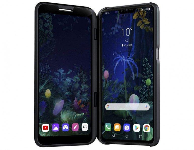 Представлен LG V50 ThinQ - это V40 с 5G?