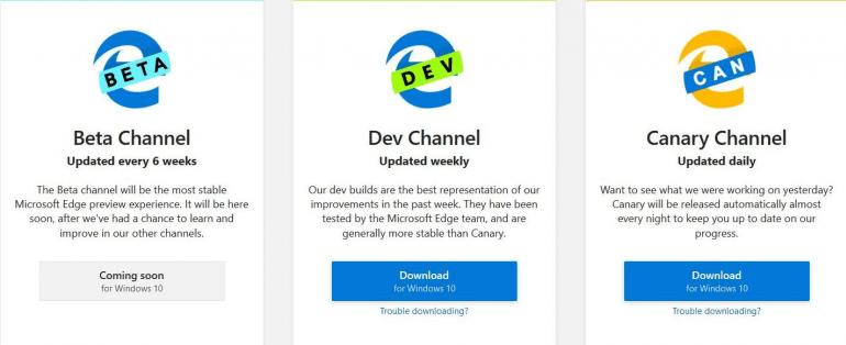 Браузер Edge на движке Chromium официально выпущен