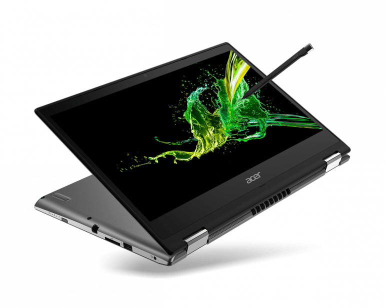 Acer Spin 3 - новый дешевый ноутбук 2 в 1