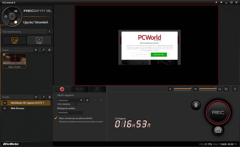 AVerMedia Live Gamer 4K GC573 - тестирование захвата 4K