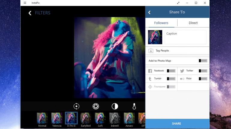 Как перенести фотографии в Instagram с ПК?