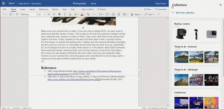 Коллекции Microsoft - узнайте, как работает новая функция Edge