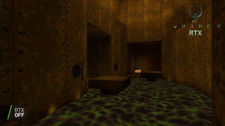 NVIDIA переписывает классическую игру Quake II с трассировкой лучей
