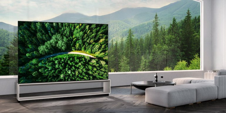 LG 88Z9 - первый OLED 8K телевизор в мире уже в продаже