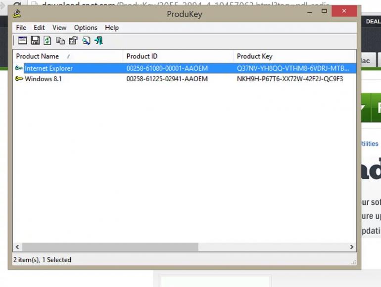 Как прочитать ключ продукта из Microsoft Office?