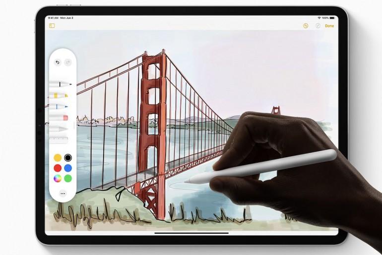 Apple Pencil - все изменения идут вместе с iPadOS