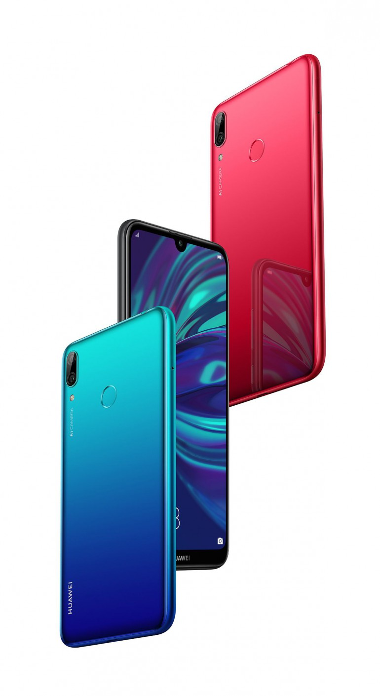 Начата акция на телефоны серии Huawei Y 2019