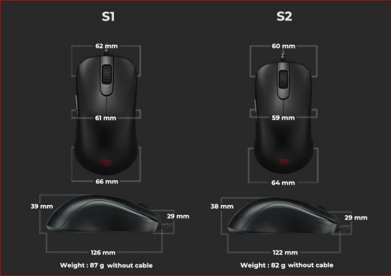 BenQ ZOWIE E-Sports мышь серии S с сенсором 3360