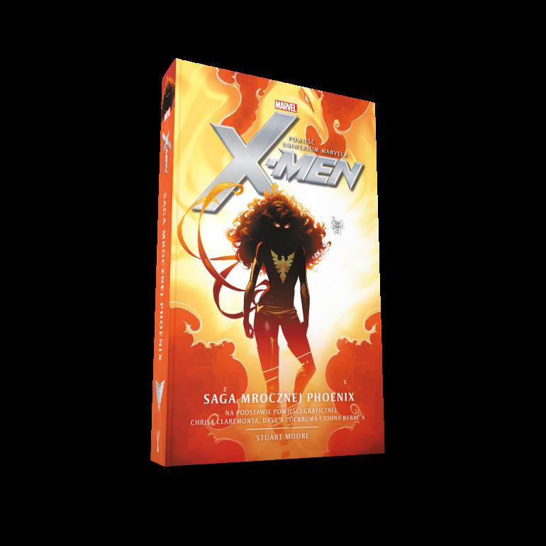 Премьера официального романа вселенной Marvel Люди Икс: Темная сага Феникса сегодня!