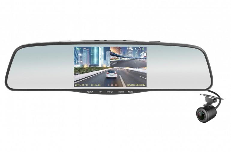 NAVITEL MR250 NV - автомобильное зеркало с датчиком ночного видения