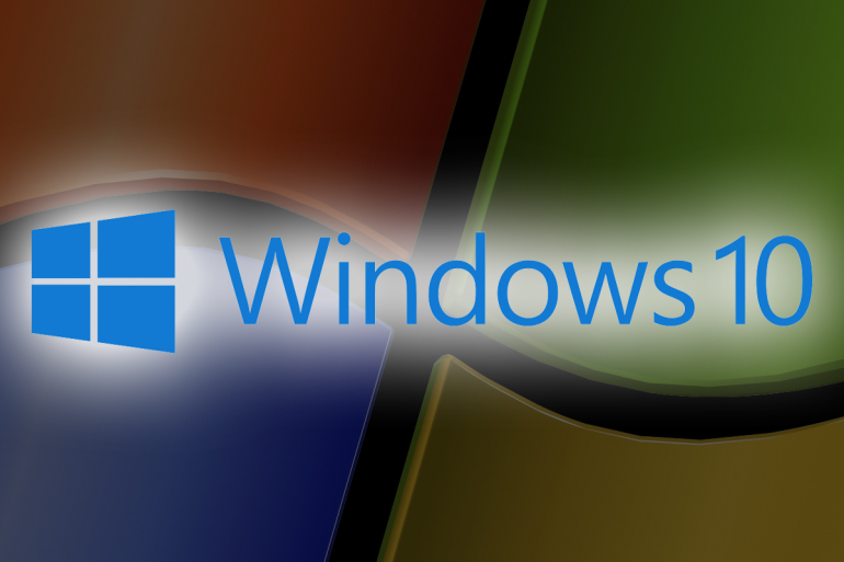 Правила Windows 10, но Windows 7 все еще держит