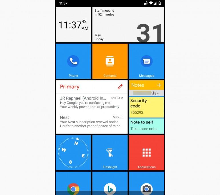 Android - как превратить его в устройство Windows 10?