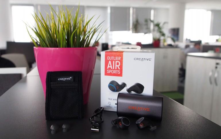 Creative Outlier AIR Sports - настоящий тест беспроводных спортивных наушников
