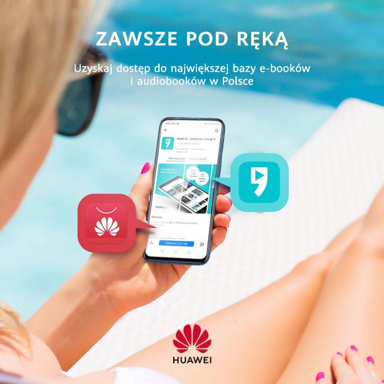 Владельцы смартфонов и планшетов Huawei получат бесплатный доступ к электронным книгам, аудиокнигам и фильмам летом