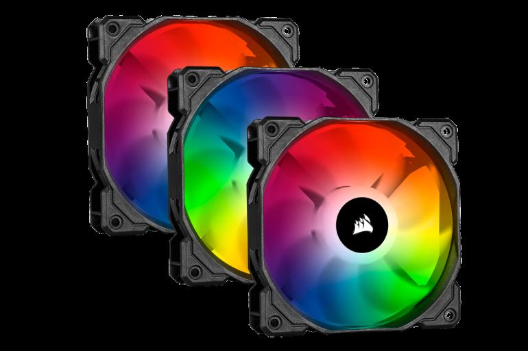 CORSAIR представляет два новых полнофункциональных светодиодных продукта RGB - корпус и вентиляторы