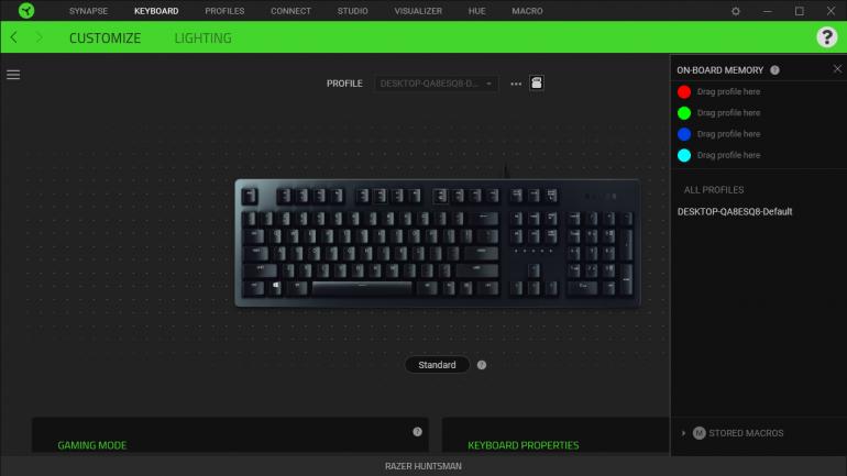 Razer Huntsman - обзор игровой клавиатуры