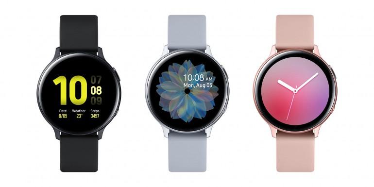 Galaxy Watch Active2 - новые умные часы Samsung