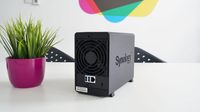 Synology DS218play - тест дешевого мультимедийного NAS