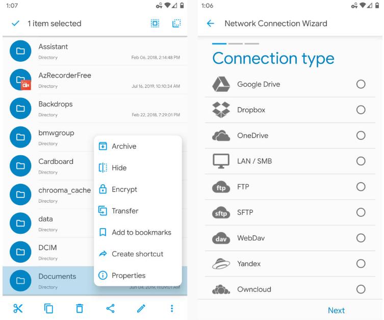 Android - лучшие приложения для управления файлами