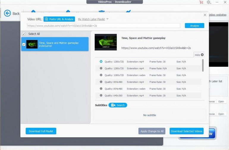 VideoProc - обзор программ для создания, редактирования и скачивания мультимедиа