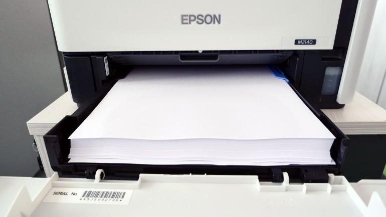 Epson EcoTank M2140 - самая дешевая монохромная печать