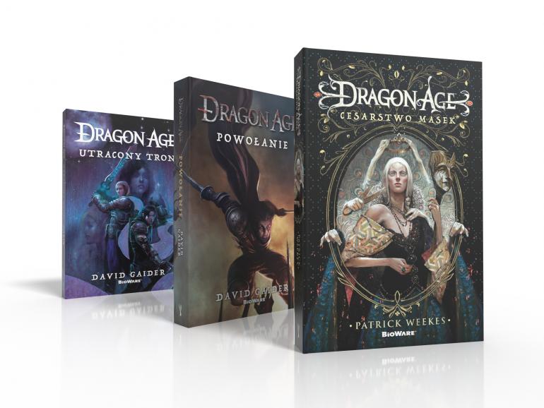 Романы из мира Dragon Age уже в книжных магазинах