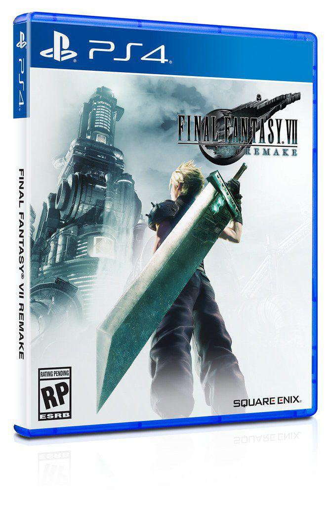 Final Fantasy 7 Remake - создатели представляют обложку и новые материалы