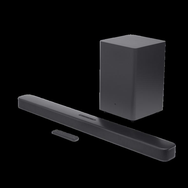 Новая серия звуковых панелей JBL Bar