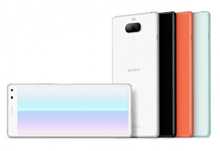 Sony Xperia 8 - было представлено интересное среднебюджетное здание