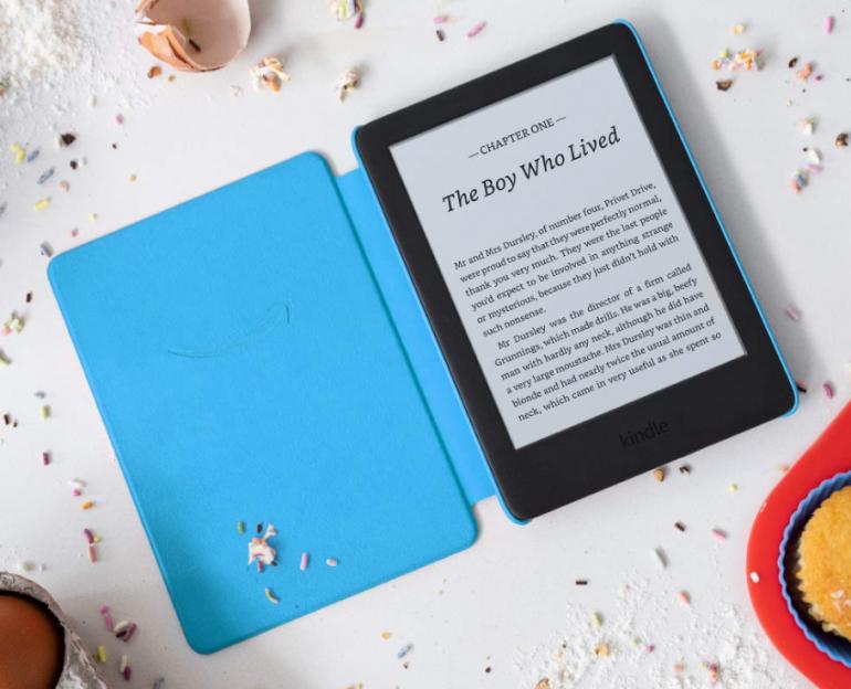 Дебюты Amazon Kindle Kids Edition - электронная книга для детей