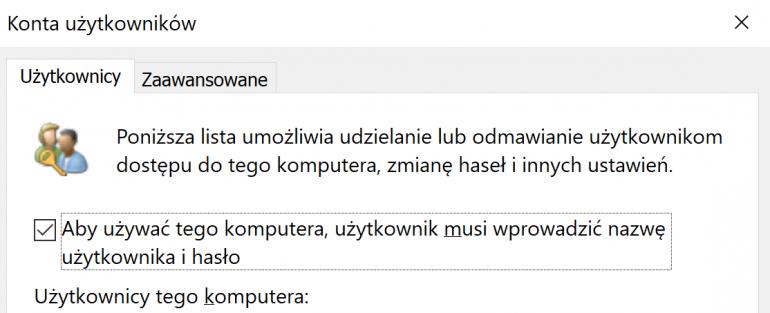 Как удалить пароль для входа в Windows 10?